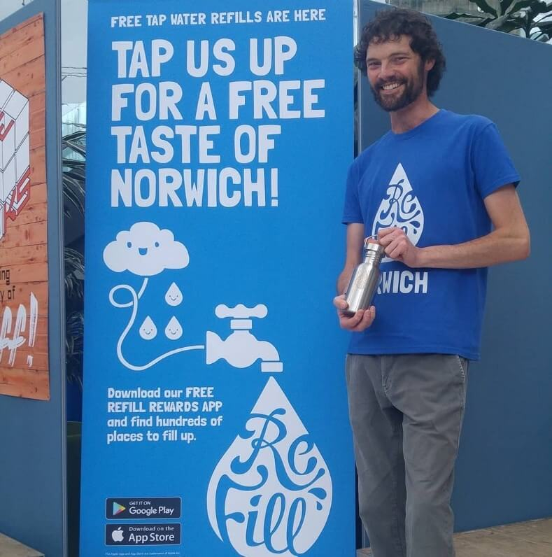 Refill Norwich founder