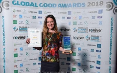 Refill takes Gold at Global Good Awards