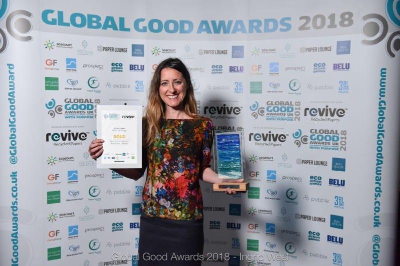 Refill takes Gold at Global Good Awards