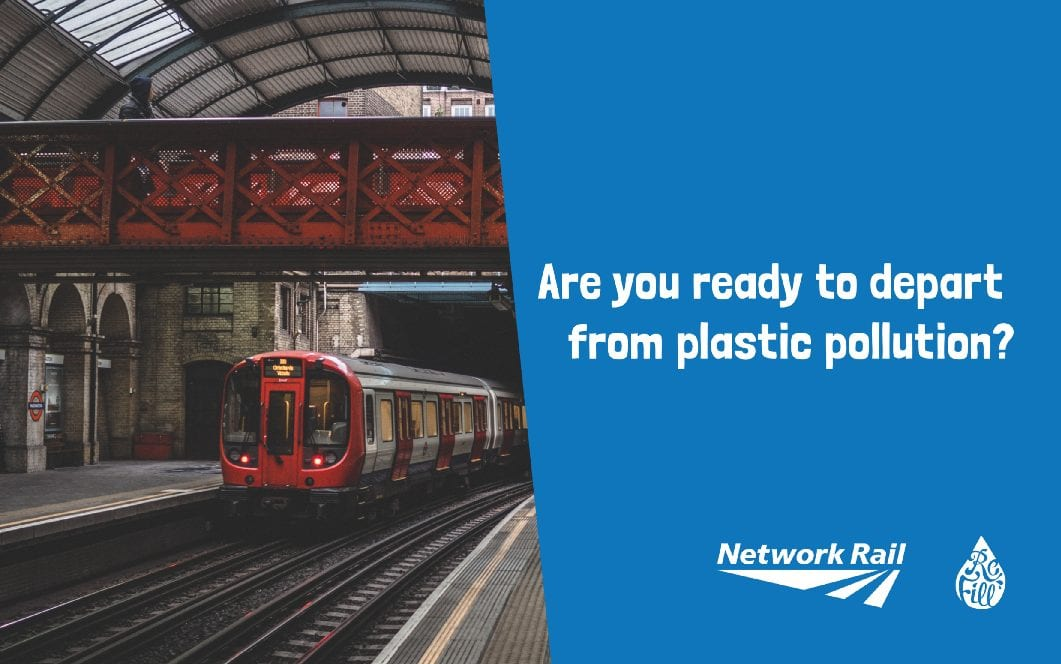 Are you ready to depart from plastic pollution?🚂
